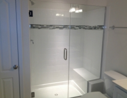 Hazelwood Master shower option